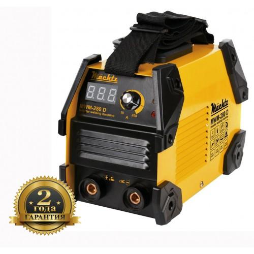Сварочный аппарат инверторный  7300 Вт.(електрод 1,6-5,0 мм.)    Machtz MWM-280 D