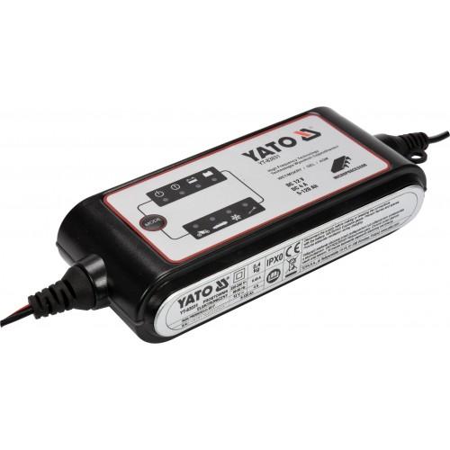 Зарядное автомобильное устройство для аккумуляторов12 В 4 А, 5-120 А Yato YT - 83031