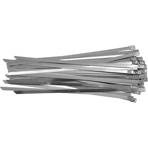 Стальные затяжные хомуты 8,0 х 300 мм (50шт) YATO YT-70582