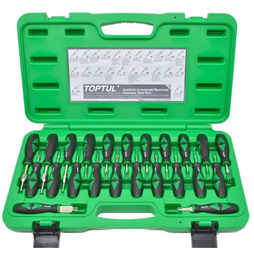 Комплект специнструмента для ремонта электропроводки 23ед. TOPTUL JGAI2301