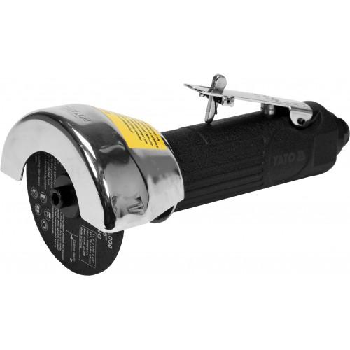 Резак пневматический, ручной  для диска Ø= 75/9.5 мм, Ø= 1/4 YATO YT-09715