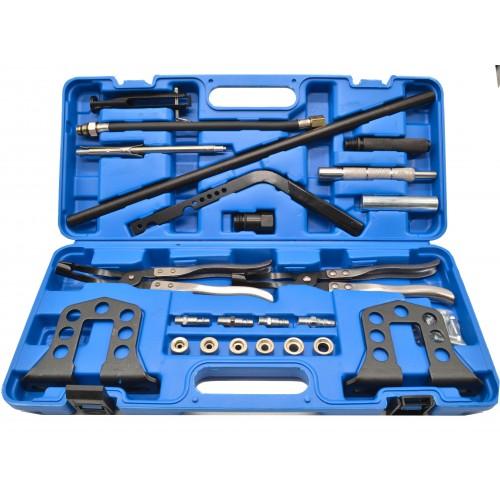 Комплект для рассухаривания клапанов, и снятия/установки сальников клапанов 23 пр. QUATROS QS40103