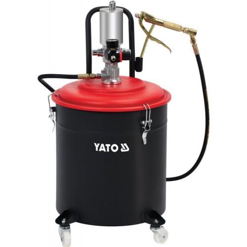 Установка пневматическая 30 л для подачи масла под высоким давлением 400 бар YATO YT-07068