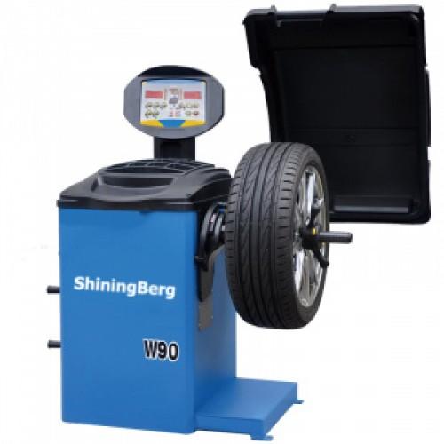 """Балансировочный станок 20"""" 220V ShiningBerg W90"""