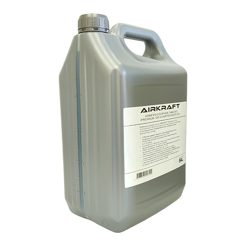 Масло компрессорное Premium 5л 100 Compressor Oil AIRKRAFT MC5-AIR