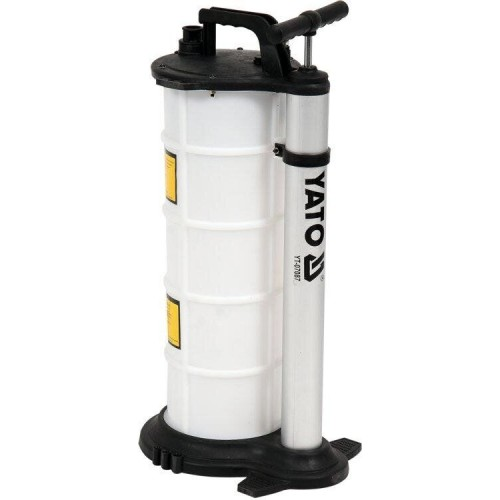 Ручная установка для откачки технических жидкостей  9 л YATO YT-07087