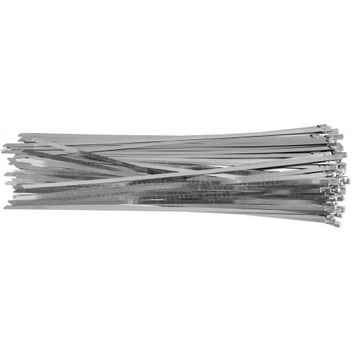 Стальные затяжные хомуты 4,6 х 300 мм (100шт) YATO YT-70563