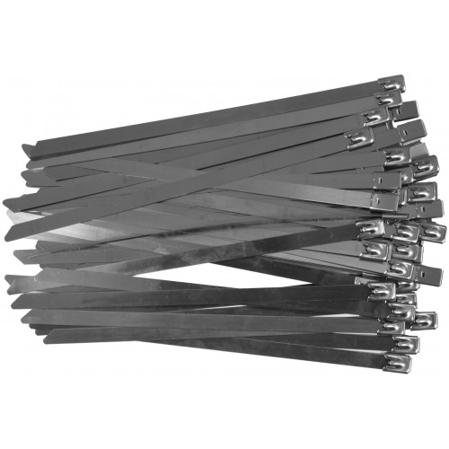 Стальные затяжные хомуты 8,0 х 200 мм (50шт) YATO YT-70580