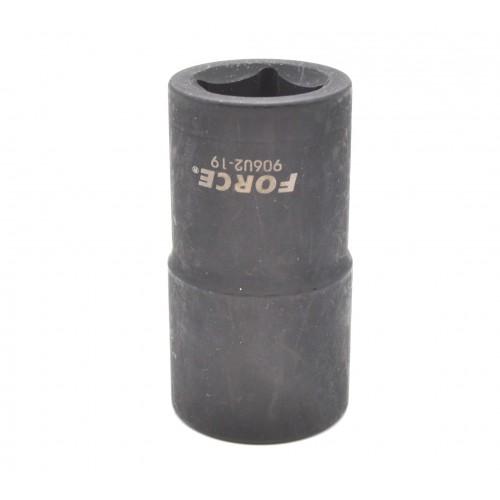 """Головка 3/8  """"для поврежденых гаек 16 мм, L=50 мм FORCE 910U2-16 F"""