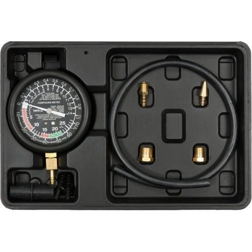 Тестер вакуумного и топливного насосов 0-14 psi YATO YT-73050