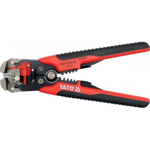 Инструмент для обжатия и зачистки проводов от 0,2 мм2 до 6,0 мм2 YATO YT-2278