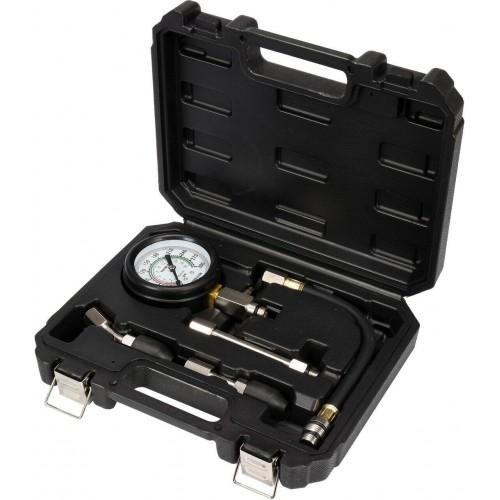 Компресcометр для бензиновых двигателей с набором адаптеров YATO YT-73011