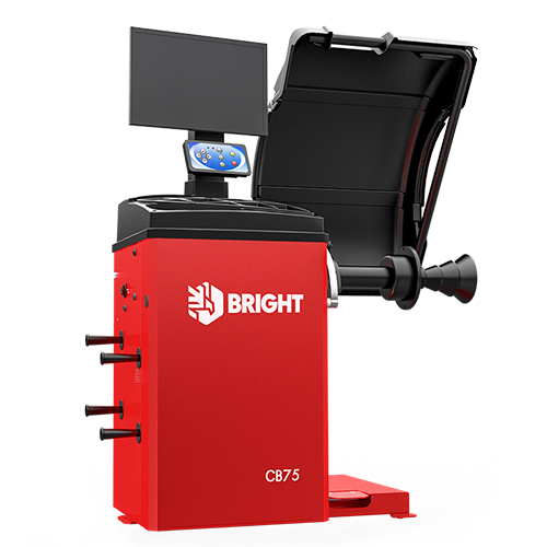 Балансировочный стенд автомат с LCD дисплеем BRIGHT CB75P