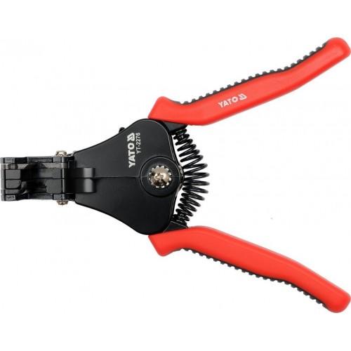 Инструмент для зачистки изоляции проводов от 1,0 мм2 до 3,2 мм2, длина: 170мм YATO YT-2276