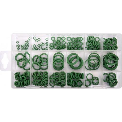 Набор уплотнительных колец YATO : из каучука-HNBR, для систем кондиционирования, 225 шт YT-068791