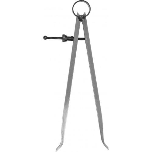 Кронциркуль для внутренних замеров YATO : l= 200 мм, с винтовым фиксатором и на пружине YT-72126