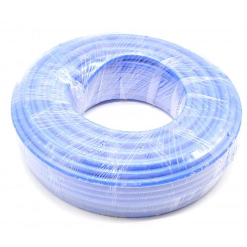 Пневмошланг полиуретановый армированный 11 х 16 мм, L=50 м SUMAKE UNA111650BU