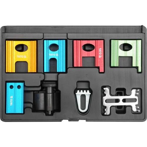 Набор для блокировки шкивов распределительного механизма, 8 шт. YATO YT-0633