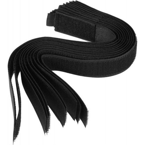Хомут-липучка черный 25 х 300 мм (10шт.) VOREL 73853