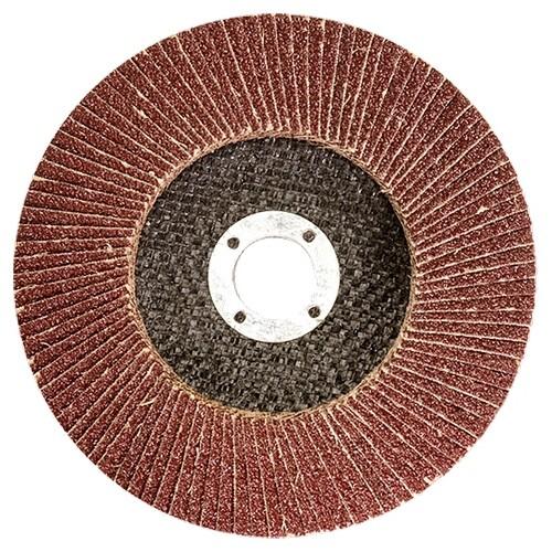 Круг лепестковый зачистной торцевой, P 80, 115 х 22,2 мм Matrix