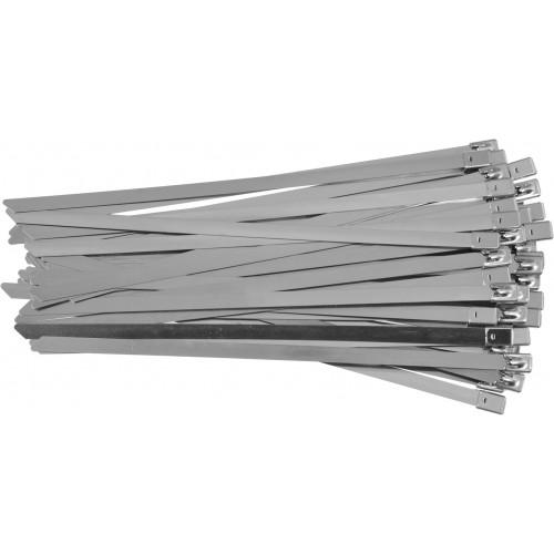 Стальные затяжные хомуты 8,0 х 250 мм (50шт) YATO YT-70581