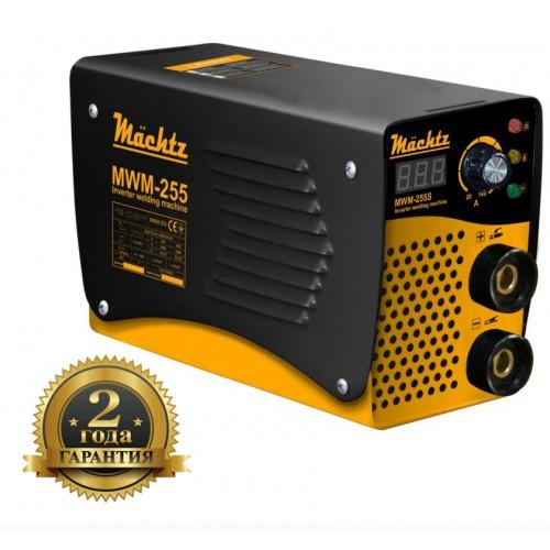 Инверторный сварочный аппарат 7100 Вт диаметр электрода 1.6-5.0 Machtz MWM-255 S