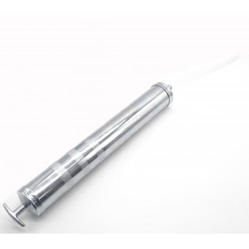 Шприц аспиратор для закачки и выкачки масла 1литр. QUATROS QS18004