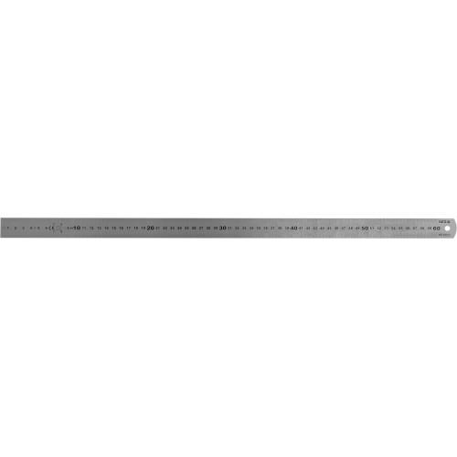 Линейка из нержавеющей стали: L= 600 x 19 мм, двухсторонняя шкала YATO YT-70723