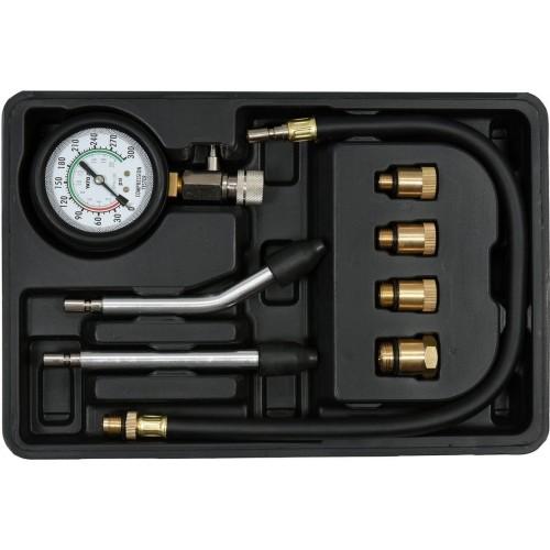 Компресcометр для бензиновых двигателей с набором адаптеров YATO YT-73022