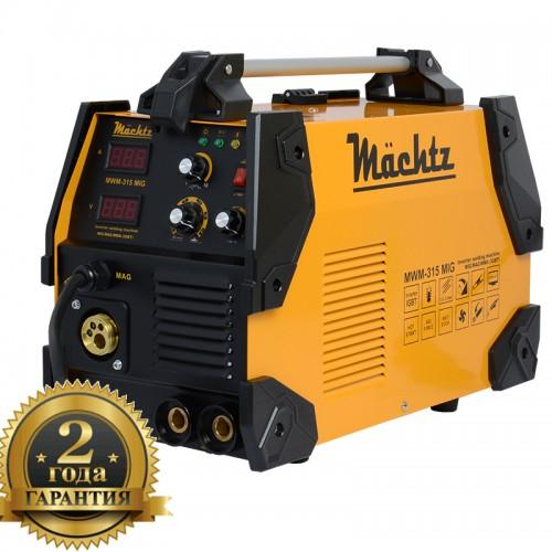 Сварочный апарат 2в 1 MIG/MAG+MMA  7800 Вт  Machtz  MWM-315 MIG