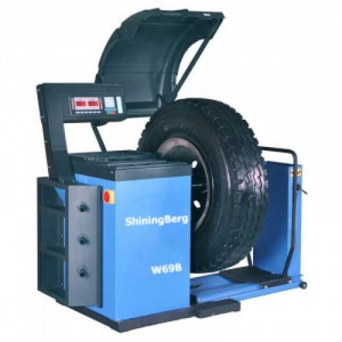 """Балансировочный станок для колес грузовых автомобилей 10-26"""" 220V ShiningBerg W69"""