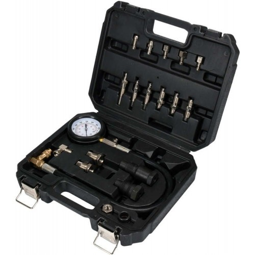 Компрессометр для дизельных двигателей с прямым и непрямым впрыском, 19 предметов YATO YT-73072