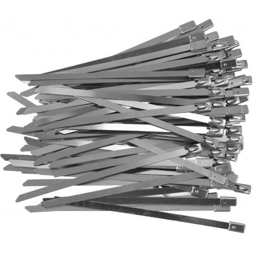 Стальные затяжные хомуты 4,6 х 125 мм (100шт) YATO YT-70560