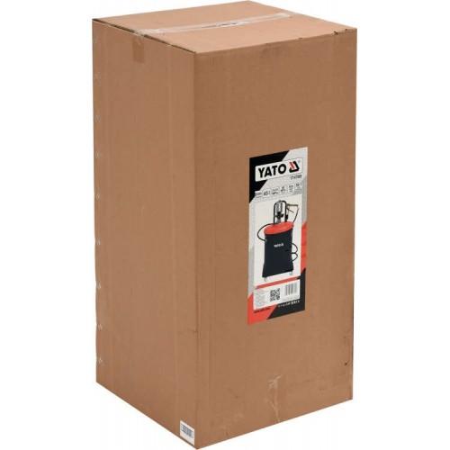 Установка пневматическая 45 л для подачи масла под высоким давлением 400 бар YATO YT-07069