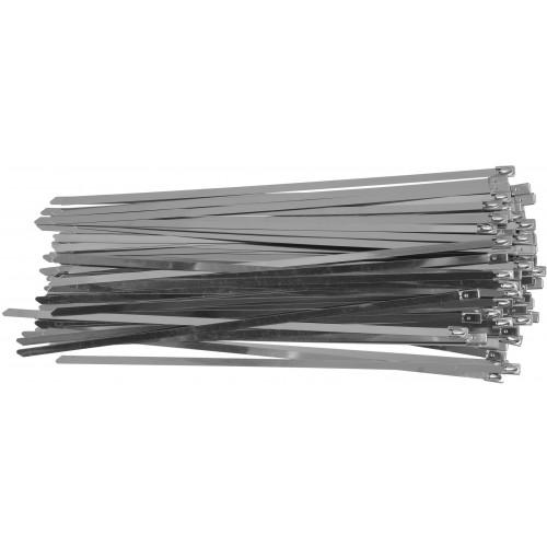 Стальные затяжные хомуты 4,6 х 250 мм (50шт) YATO YT-70562