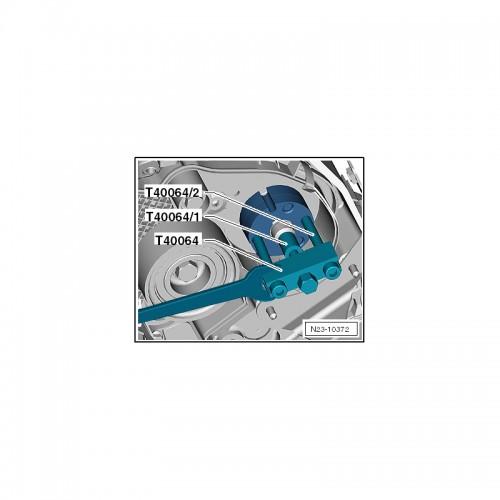Cъёмник шкива ТНВД VAG 1.6, 2.0L TDI 6727 JTC