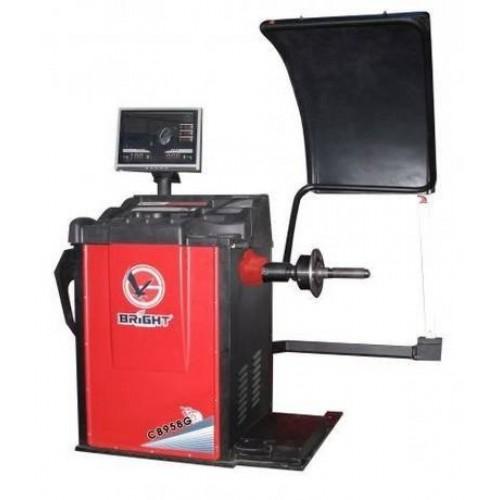 Балансировочный стенд автомат с LCD дисплеем BRIGHT CB968B