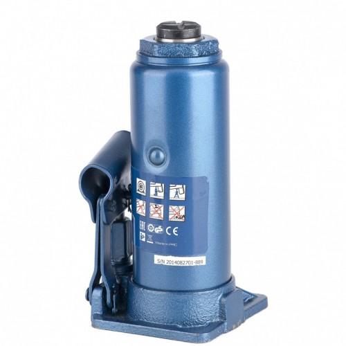 Домкрат гидравлический бутылочный, 8 т, H подъема 230-457 мм. STELS 51104