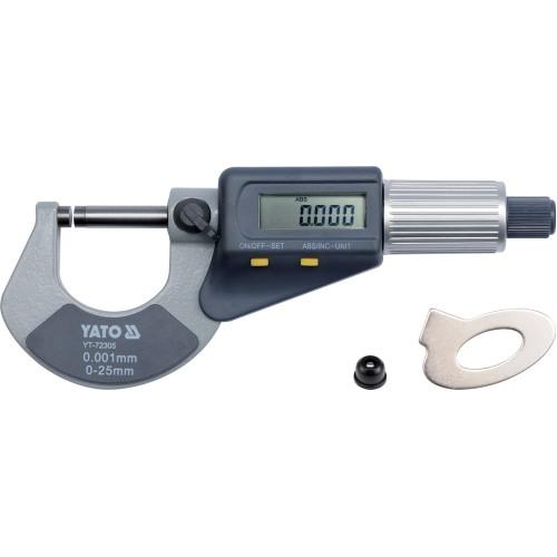 Микрометр цифровый 0-25мм