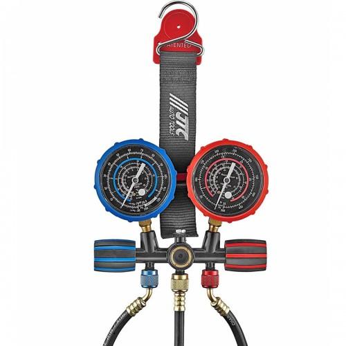 Устройство для заправки автокондиционера с магнитным ремнем R12, R22, R134A,R1234yf.