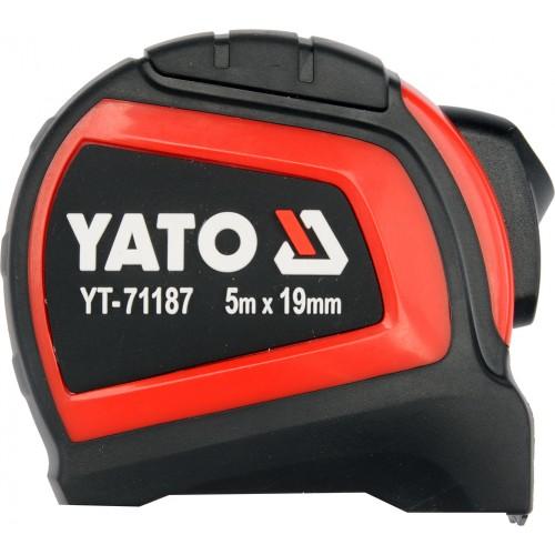 Рулетка 5мх19мм, YT-71187