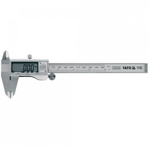 Штагельциркуль электронный, длина: 150мм, цена деления: 0,02мм