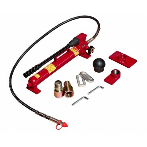 Набор инструментов 38 предметов гидравлический 10 тонн для ремонта кузова (кейс) JTC