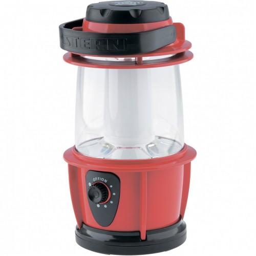 Фонарик кемпинговый, светодиодный, с регулятором яркости, пластиковый корпус, 12 LeD, 3хАА. STERN