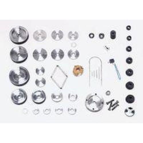 Набор адаптеров HunterPro Elite (к станку для проточки тормозных дисков) HUNTER 20-2615-1