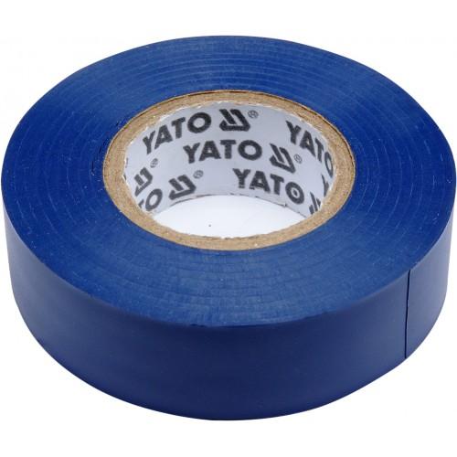 Изолента 19ммх20м. голубая YATO YT-81651