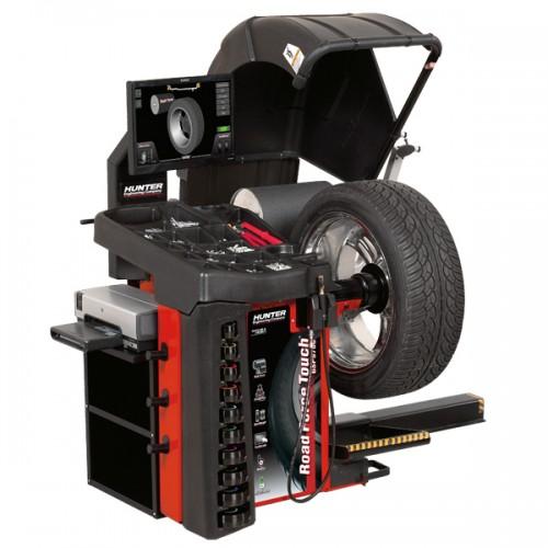 Балансировочный стенд Road Touch 3 в 1 c пневмозажимом и подъемником колеса HUNTER RFT30E