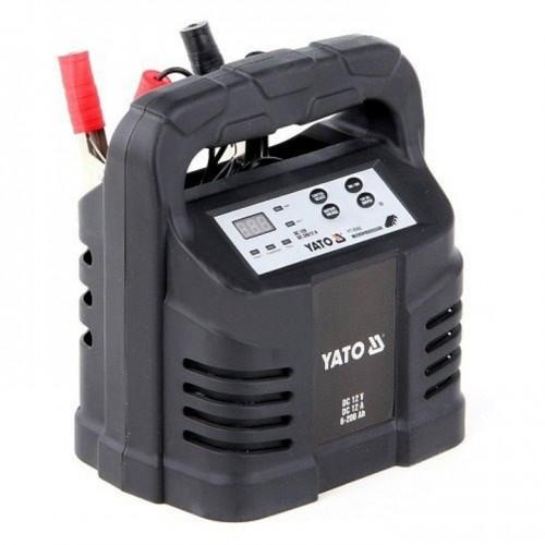 Зарядное устройство 12V 12А 6-200Ah YATO YT-8302