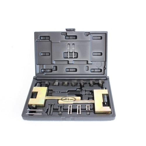 Набор инструментов работы с цепью ГРМ Mercedes 22 предмета