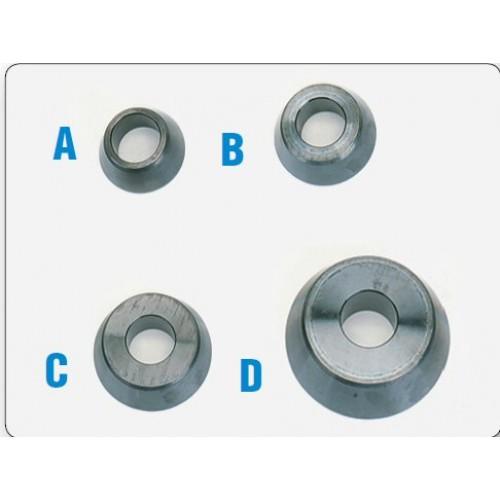 Базовый комплект конусов (4 ед.) со стандартным углом для балансировочных стендов  (не рекомендуется для RFT) HUNTER 20-1167-1
